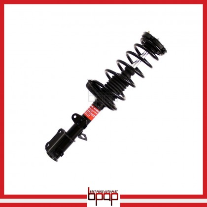 shock absorber strut assembly rear left toyota corolla   chevrolet prizm