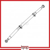 Front & Rear Propeller Driveshaft - DSF108
