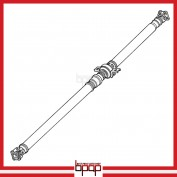 Rear Propeller Drive Shaft Assembly - DSX308