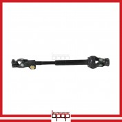 Lower Steering Shaft & Upper Universal Joint Assembly - JCAL09