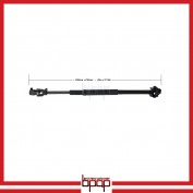 Intermediate Steering Shaft & Universal Joint Assembly - JCF194