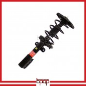 Shock Absorber Strut Assembly - Rear Left - SORE98