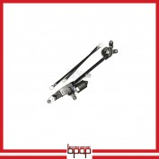 Wiper Transmission Linkage with Motor Assembly - WAHI09